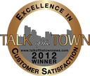 Talk of the Town | Excellence in Customer Satisfaction | 2012 Winner